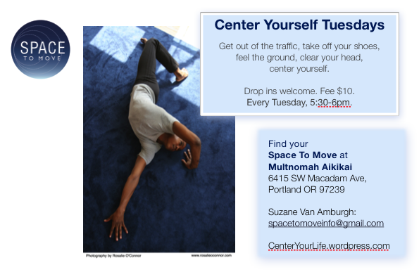 Center Yourself Tuesdays class in Portland